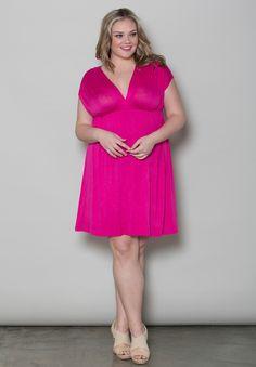 With leggings!!! Plush Size Dresses | April Dress | Swakdesigns.com