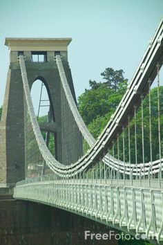 Clifton Suspension Bridge by Brunel, Bristol, England Isambard Kingdom Brunel, Places Ive Been, Places To Visit, Bristol England, Suspension Bridge, 1 Place, George Washington Bridge, Travel Memories, Walkways