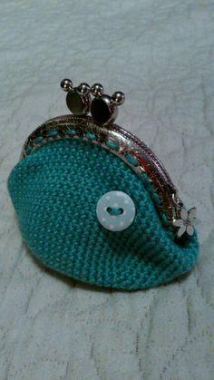 monedero a crochet
