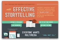 Cut through information overload with effective storytelling