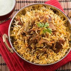 Lamb Biryani Recipes, Paneer Recipes, Veg Recipes, Indian Food Recipes, Ethnic Recipes, Indian Foods, Curry Dishes, Beef Dishes, Restaurant Recipes