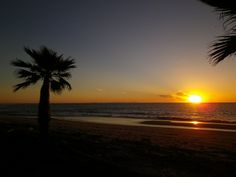 le soleil se lève sur la plage de Ghisonaccia...