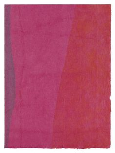 Rice Paper Drawing (15), 1965, ink on Japanese rice paper, by Anne Truitt in Japan - Works in Exhibition - Matthew Marks Gallery