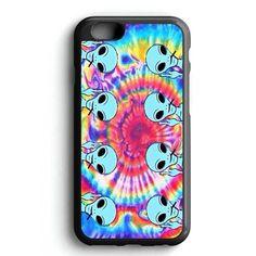 Tie Dye Color Alien iPhone 7 Case
