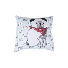 Almofada Pug Pet Meu Pet by Sofi Roux . #petmeupet #pug #cachorro #almofada #decoracao #design #promocao #desconto