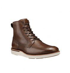Achetez les chaussures montantes Timberland Preston Hills 6-inch en cuir marron pour homme. Livraison offerte en 48h en France.