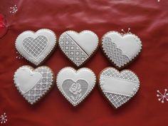 medovníčky srdcia 8 cm