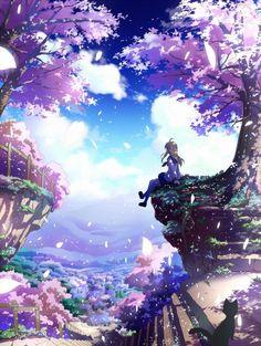 images for illustration anime art Art Anime, Anime Artwork, Manga Art, Manga Anime, Fantasy Anime, Fantasy Art, Anime Plus, Estilo Anime, Image Manga