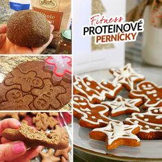 Fitness proteinové perníčky vánoční cukroví recept Bajola Gingerbread Cookies, Protein, Health Fitness, Foods, Vegan, Desserts, Recipes, Gingerbread Cupcakes, Food Food