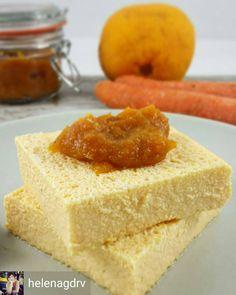 @Regrann_App from @helenagdrv -  Pastel de queso con mermelada de zanahoria y naranja  200g de queso fresco batido 0% 150g de queso fresco Burgos 1 cs de edulcorante 1 cs de almendra molida 5 claras 2g de Agar-Agar @pronagar  Opcional: unas gotitas de aroma de vainilla Para la mermelada: 1 zanahoria 1 naranja y 1 cucharada sopera de azúcar panela Receta completa pronto en el blog  - #regrann