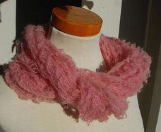 Weiteres - Zarter Lace Schal aus Mohair - rosa - ein Designerstück von HansensGasse bei DaWanda