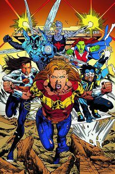 Teen Titans by Joe Bennett