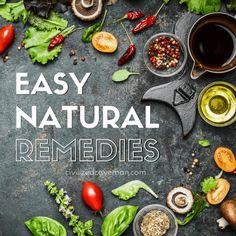 Natural Remedies 101