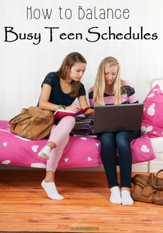 Life gets busier as our children become teenagers. With these parenting tips on how to balance teen schedules, you can help your busy teen manage their time and easily stay on task in a world fully of deadlines.