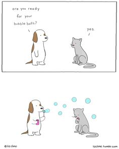 """The Simpsons Illustrator Draws Animal Comics That Are So Adorable, All We Can Say Is """"Awww"""" Funny Animal Comics, Cute Funny Animals, Animal Memes, Funny Comics, Funny Cute, Funny Cartoons, Funny Jokes, Dolphin Mall, Jokes"""
