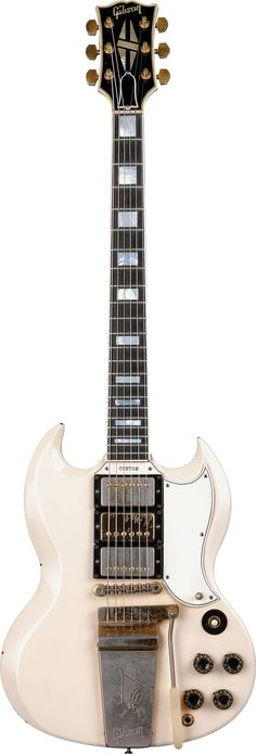 Keith Richards' 1963 Gibson SG Custom | Vintage Guitar® magazine #vintageguitars