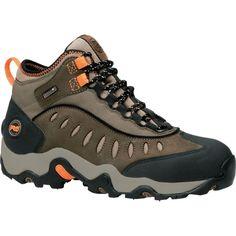 Timberland PRO Men's Mudslinger Mid Waterproof Steel Toe Work Boots, Size: 10.5, Brown