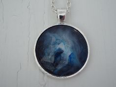 Pendant Necklace Handcrafted Jewelry Mystery of Space by Zedezign, $15.00