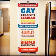 #Obama2012 #MarriageEquality