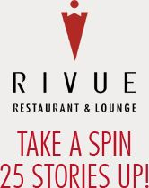 Downtown Louisville Restaurants: RIVUE Restaurant & Lounge At Galt House Hotel Louisville KY Fine Dining Best Of Seafood Steak Waterfront Rooftop Bar Award Winning Events Twin Revolving Floor 40202