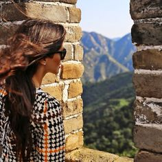 Amazing views of the Great Wall are featured in today's post on MiaMiaMine.com #ootd #style #fashionblog