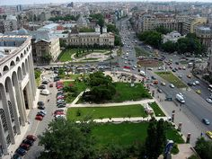 A park in the center of Bucharest. Romania Bucharest, Eastern Europe, Capital City, Montenegro, British Columbia, Croatia, Ukraine, Places Ive Been, Scotland