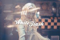 "Damien Elroy Vignaux ""white trash"" http://www.confashionmag.pl/webitorial/white-trash.html"