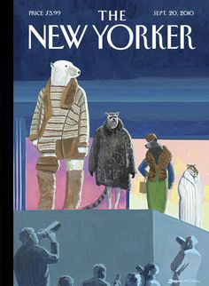 "The New Yorker - Monday, September 20, 2010 - Issue # 4372 - Vol. 86 - N° 28 - « The Style Issue » - Cover Style Issue. ""Catwalk"" by Bruce McCall"