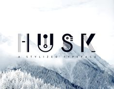 Husk is a unique typeface inspired by shapes and stylistic elements.It has a strong emphasis on varied line weights and solid fills. Its unique shape and proportions lends a mix of abstract and modern aesthetics.This set includes:UppercaseLowercase… Seating Plan Wedding, Modern Aesthetics, Graphic Design Typography, Behance, How To Plan, Abstract, Gallery, Weights, Fonts
