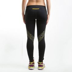 Janji Women's Running Tights by Janji. These tights give clean drinking water to a person in Tanzania. (Tanzania)