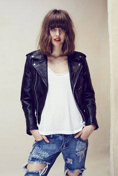 FL&L x UNDERSTATED LEATHER CLUB LEATHER JACKET – For Love & Lemons