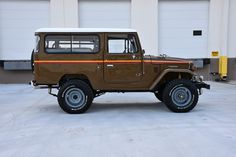 La Aduana: Fully Restored 1979 FJ43 Land Cruiser – Expedition Portal