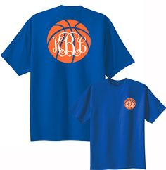 Preppy Monogrammed Shirts | home monograms t shirts preppy basketball monogram shirt