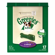 Greenies Dental Treats for Dogs Large Two cases please!  petco.com