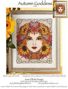 winter goddess by joan elliott designs xs charts