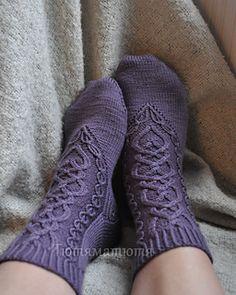 Ravelry:  the Daughter Heir socks by SammiLynn