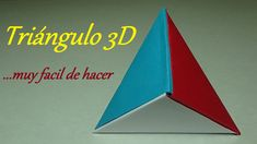 Como hacer Triángulo en 3D Origami - Fácil de hacer - http://cryptblizz.com/como-se-hace/como-hacer-triangulo-en-3d-origami-facil-de-hacer/
