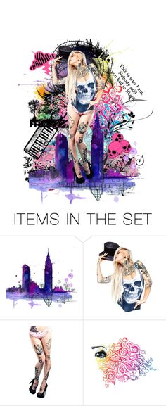 """I'm just being me"" by queenofmischief ❤ liked on Polyvore featuring art"