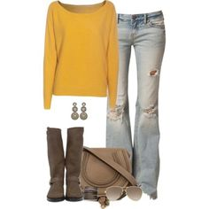 Like this look without the ripped jeans