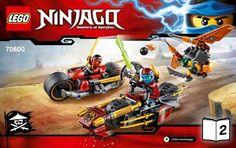 Ninjago - Ninja Bike Chase [Lego 70600]