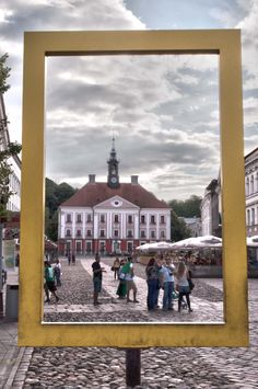 Tartu - University town in Estonia -  NatGeo view