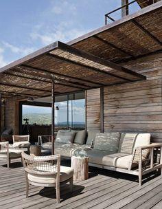 Maison contemporaine en bois en Corse - Côté Maison