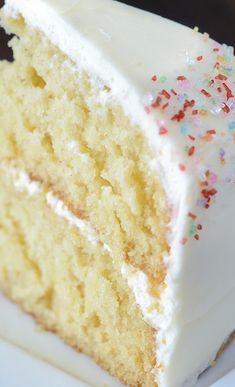 Vanilla Dream Cake - http://www.thenovicechefblog.com/2013/08/vanilla-dream-cake/
