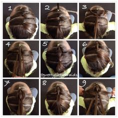 3strandpullthroughbraid by @prettylittlebraids click for written instructions