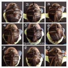 3strandpullthroughbraid by @prettylittlebraids click for written instructions