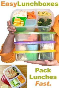 $13.95 for a set of 4. Free shipping.  #easylunchboxes #lunchbox #bento #schoollunch #worklunch #officelunch