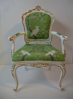 1.6 Scale Custom Chair by Ken Haseltine Regent Miniatures, via Flickr