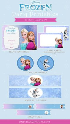 Free Frozen Party Pr
