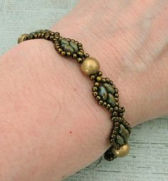 Linda's Crafty Inspirations: Bracelet of the Day: Francis - Turquoise Bronze Picasso