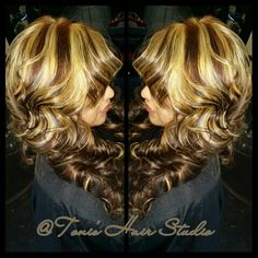 @Toni's Hair Studio 8135167892 .